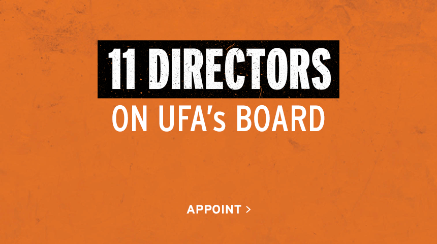 11 Directors on UFA's Board | Appoint
