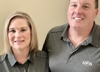 Michelle & Brad Williams celebrate 20 years as UFA Petroleum Agents